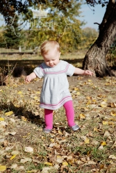 walking one year old