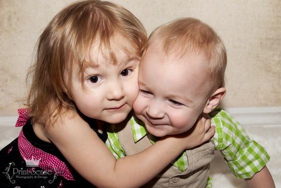 Print-Sense Photography, sibling photo